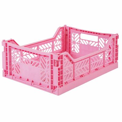 Caisse de rangement pliable Medium coloris Baby Pink
