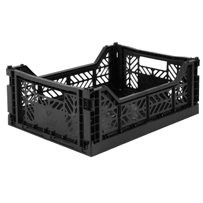 Caisse de rangement pliable Medium coloris Black