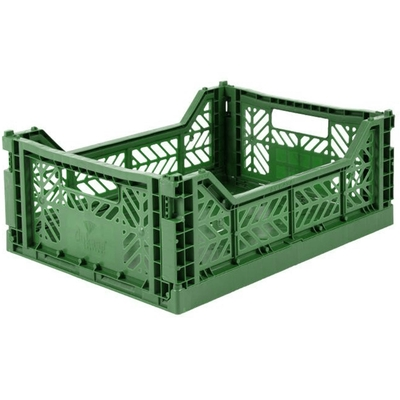 Caisse de rangement pliable Medium coloris Dark Green