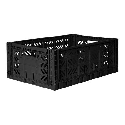 Caisse de rangement pliable Maxi coloris Black