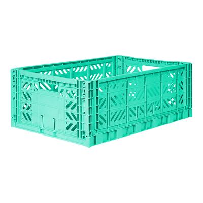 Caisse de rangement pliable Maxi coloris Mint