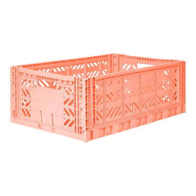 Caisse de rangement pliable Maxi coloris Salmon
