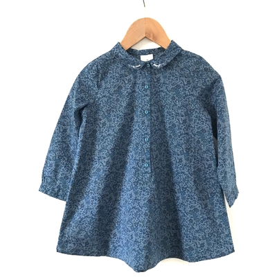 Robe Abby Blue Floral (4 ans - 10 ans)