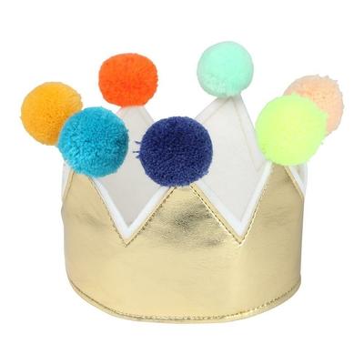 Couronne dorée pour les rois et les reines (3/6 ans)