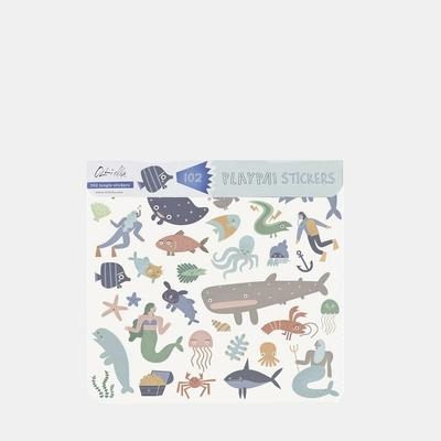 Playpa Stickers thème Ocean