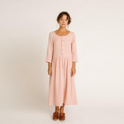 Robe Zinnia Rose Stripe