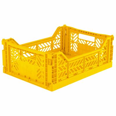 Caisse de rangement pliable Medium coloris Yellow