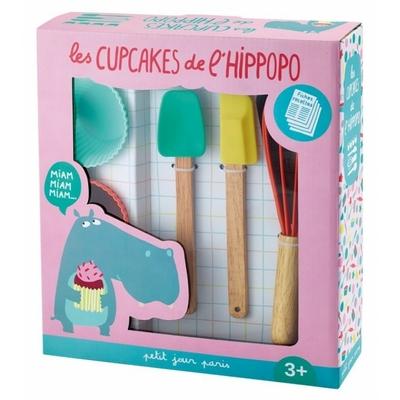 """Coffret de pâtisserie Arty Frog """"les cupcakes de l'hippopo"""""""