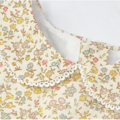 Robe Maria en Liberty Meadow Sweat (24 mois, 36 mois)