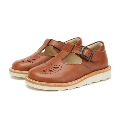 Chaussures Rosie T-Bar Junior & Teen coloris Chestnut Brown (du 31 au 39)