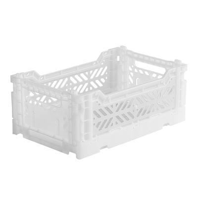 Caisse de rangement pliable Small coloris White