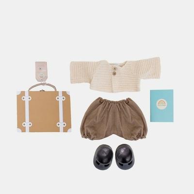 Set de voyage Dinkum Doll Travel Tog coloris rust