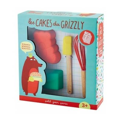 """Coffret de pâtisserie Arty Frog """"les cakes du grizzly """""""