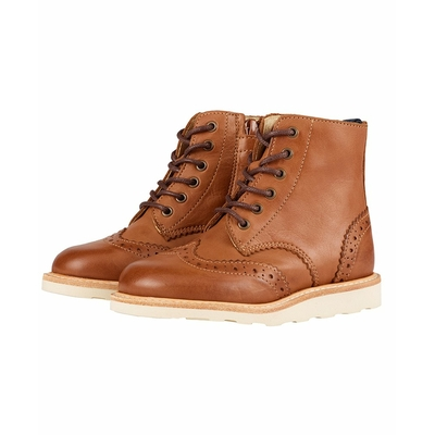 Chaussures Sidney Brogue Boots Tan Burnished Leather (du 24 au 29)