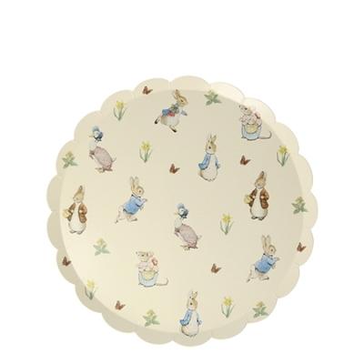 12 petites assiettes Pierre le Lapin & ses amis