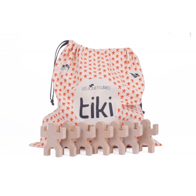 Tiki : 40 personnages en bois
