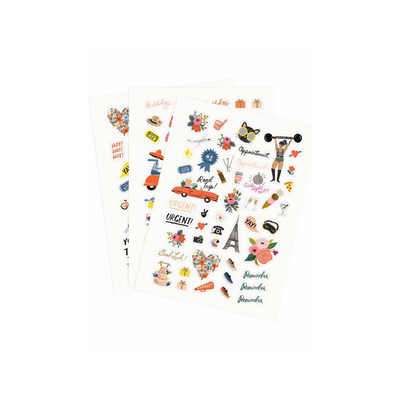 Set de 128 stickers