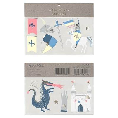 Tatouages Dragons et chevaliers