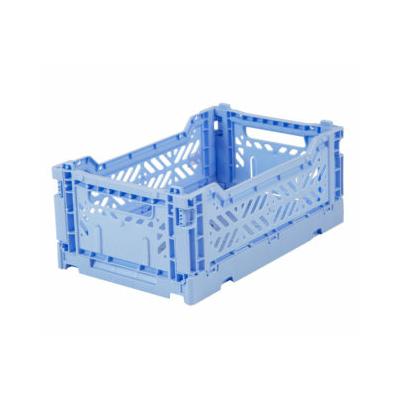 Caisse de rangement pliable Small coloris Baby blue