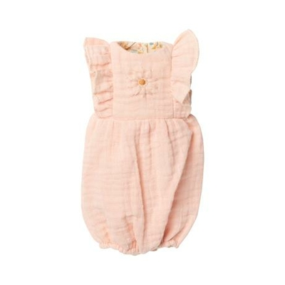 Barboteuse rose poudre pour lapin Maileg taille 3