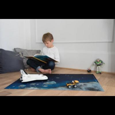 """Tapis de jeu """"odyssée spatiale"""" 90 x 60 cm"""