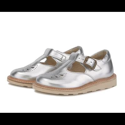 Chaussures Rosie T-Bar coloris Silver (du 20 au 35)