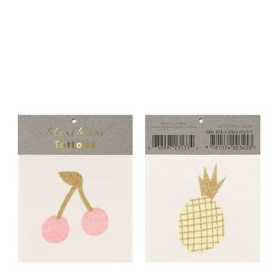 Tatouages Cerises et ananas