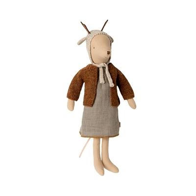 Souris Maileg : fille au bonnet de rêne format Medium 31 cm