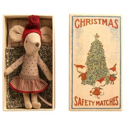 EXPEDITION : FIN OCTOBRE 2020 // Souris Maileg : grande soeur de Noël dans sa boîte d'allumettes