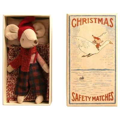 EXPEDITION : FIN OCTOBRE 2020 // Souris Maileg : grand frère de Noël dans sa boîte d'allumettes