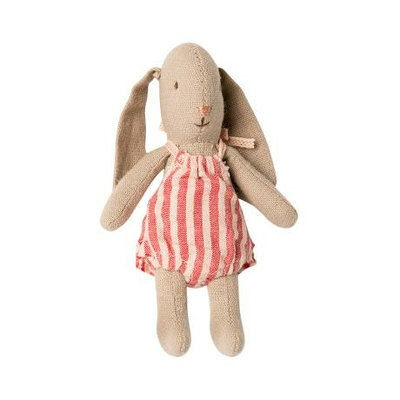 Lapin Maileg : micro lapin et sa barboteuse rose