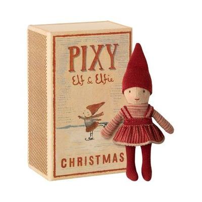 Fille Elfe Pixie dans sa boîte d'allumettes Maileg