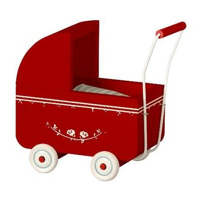 Landau Maileg coloris rouge format micro