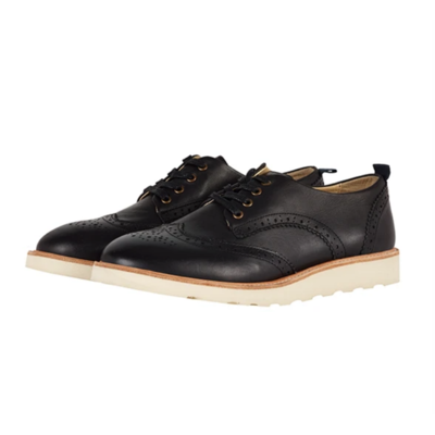 Chaussures Brando Brogue coloris Black (pointure 37)