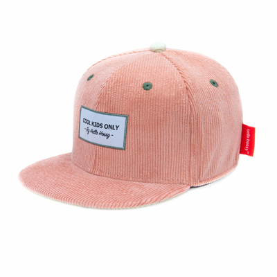 Casquette Hello Hossy velours - Sweet candy