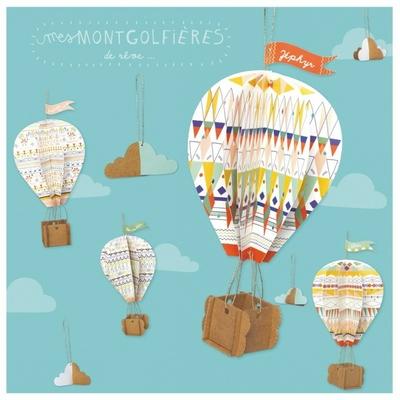 Kit créatif Montgolfières