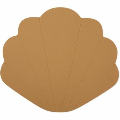 Set de table coquillage terracotta