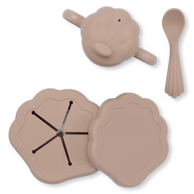 Set de repas coquillage 5 pièces blush