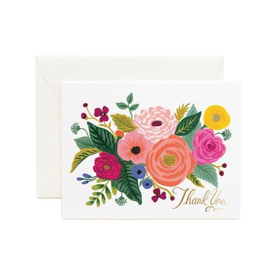 """Carte double """"Juliet Rose"""" avec enveloppe"""