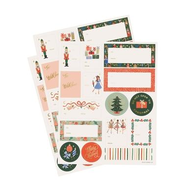Set de 45 stickers et étiquettes
