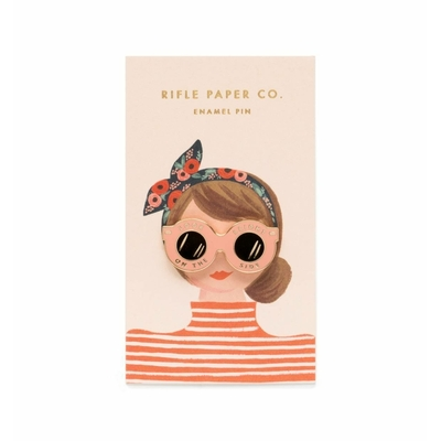Pin's Lunettes Rifle Paper