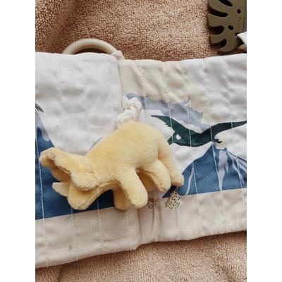 Livre d'éveil en tissu thème dinosaures