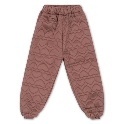 Thermo pants Cinnamon - pantalon thermique chaud en jersey