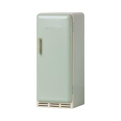 PRECOMMANDE (livraison mi avril 2021) : Réfrigérateur miniature Maileg en métal coloris mint