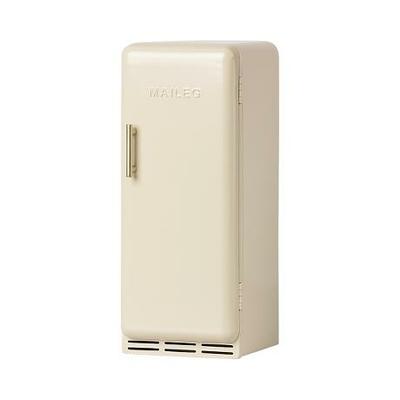 PRECOMMANDE (livraison mi avril 2021) : Réfrigérateur miniature Maileg en métal coloris off-white