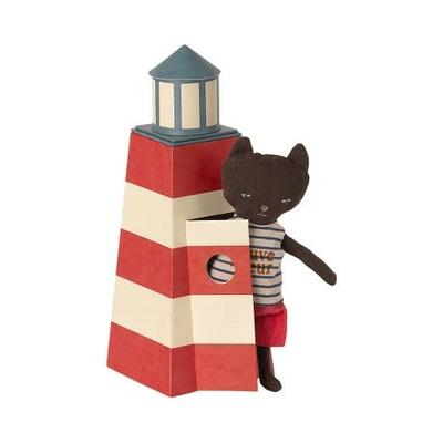 PRECOMMANDE (livraison fin juin 2021) : chat dans son phare