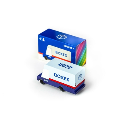 Boxes Mail Truck - Camion postal
