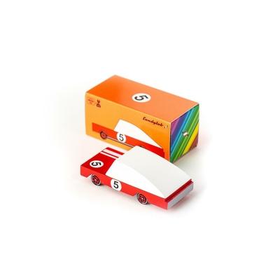 Red Racer #5 - Voiture de course rouge n°5