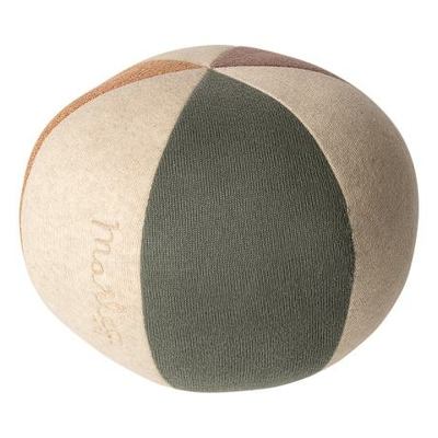 Doudou ballon Maileg pastel dusty green / coral