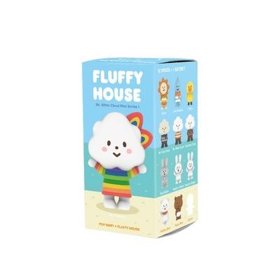 Fluffy série 1 - 1 figurine surprise parmi les 12 présentées sur la photo